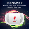 Mini C VR Box 3D Glasses Virtual Reality Google Cardboard Case Glasses For iPhone 5s 6 Samsung Android Smart Phone 4.5-5.5 inch
