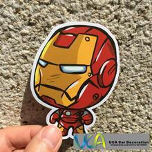[Iron Man Q] Auto Styling Hellaflush Cartoon Mode Wasserdichte Graffiti Aufkleber Motorrad Bike Laptop Skatboard Gepäck Aufkleber
