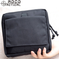 ROCO Lightweight Tactical Organizer Military Utility Waist Packs MOLLE Tactical Low Profile OP Pouch Cordura Nylon