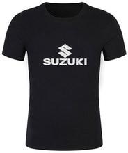 2017 New Fashion Suzuki Motorsport Team Logo T-shirt Men Cotton Short Sleeve Custom T shirts High Quality European #137