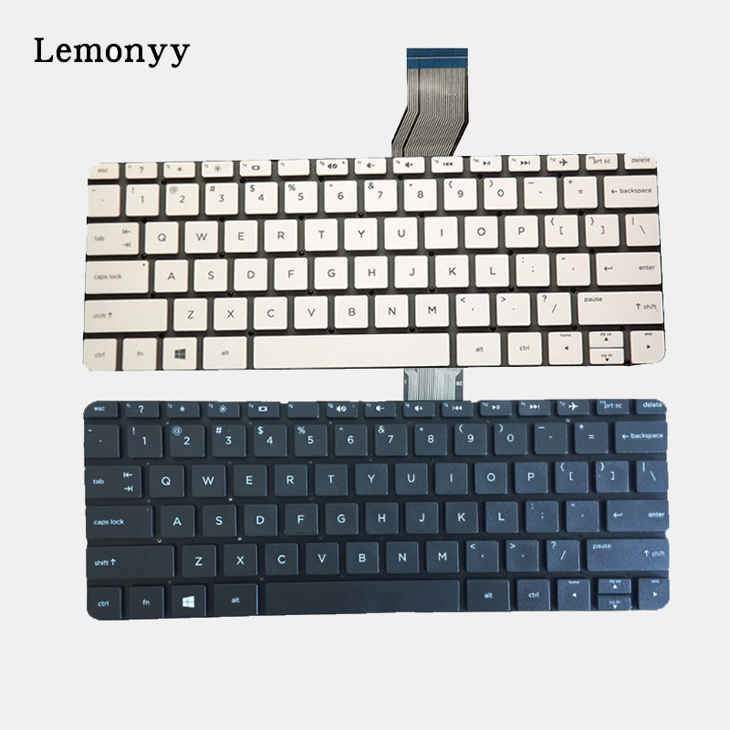 New US for HP Stream x360 11-P SERIES 11-P010NR 11-P015wm laptop English keyboard 11.6 white no frame for sony vpceh35yc b vpceh35yc p vpceh35yc w laptop keyboard