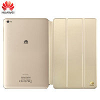 Original Huawei MediaPad M2 Sleep Wake Case 3 Folding Flip PU Leather Cover M2 Official Front
