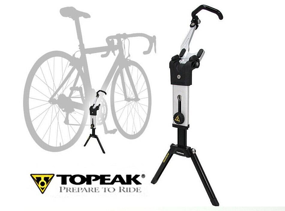 Конечная портативная настраиваемая подставка Topeak Flashstand портативный велосипедный велосипед MTB & дорожный ремонтный стенд с сумкой для перен...