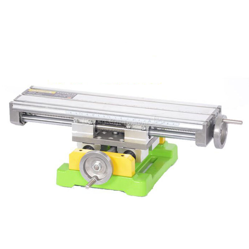 Miniature precision LY6350 multifunction Milling Machine Bench drill Vise Fixture worktable X Y-axis adjustment Coordinate table miniature precision multifunction milling machine table drill vise fixture worktable x y axis adjustment coordinate table bench