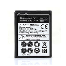 Reemplazo de alta calidad para htc hd3 hd7 t9292 teléfono 1500 mah bateria de la batería para baterías smartphone wildfire s g13 a510e