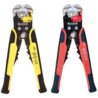 Wire Stripper Cable Cutter Crimper Wire Pliers Automatic Multifunctional Terminal Crimping Stripping Pliers Tools AWG 0.2-6.0mm
