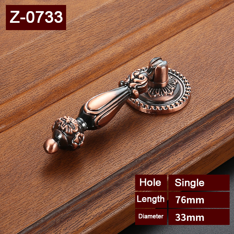 antique chinese Zinc Alloy for furniture  cabinet pull handle cupboard door knob drawer handles  fireplace door handles Z-0733 hot 10pcs furniture handles european antique zinc alloy drawer cupboard kitchen cabinet door handles