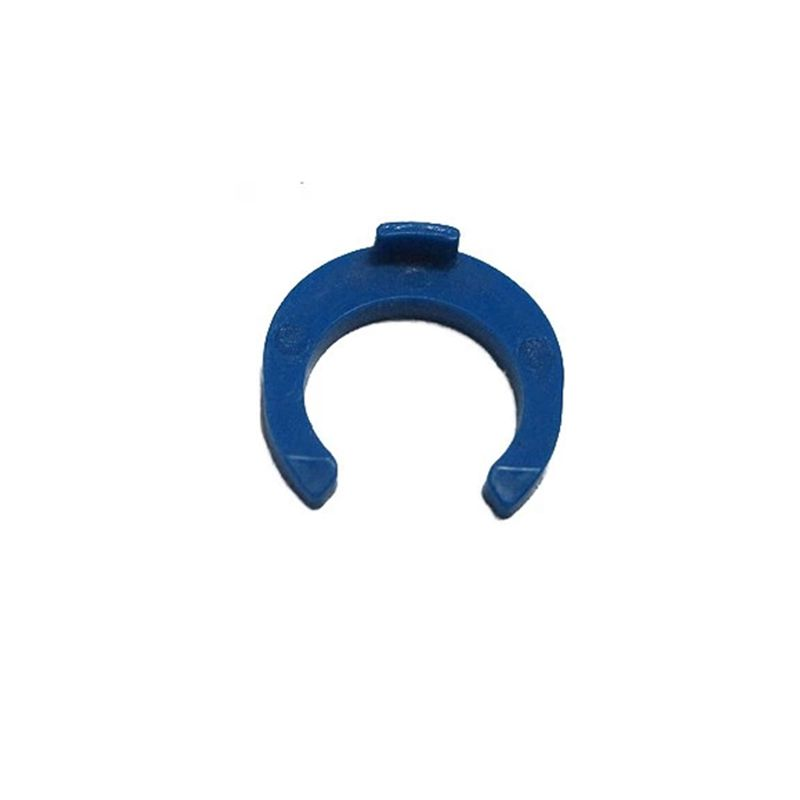 100Pcs Lot 1 4 OD Tube PE Pipe Fitting Blue Clip C ring Hose Quick Connector