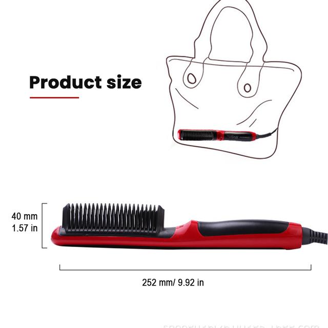 2 in 1 Hair Straightening Curl Styler
