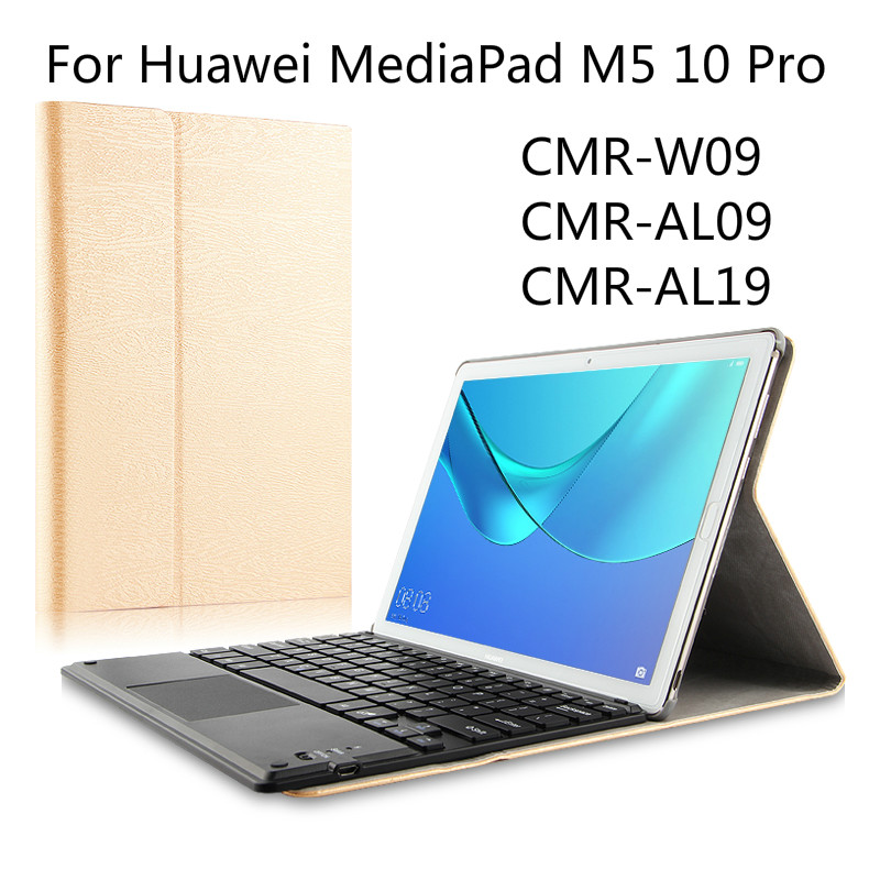 For Huawei MediaPad M5 10 Pro 10 8 inch Wireless Bluetooth keyboard PU Leather For Huawei