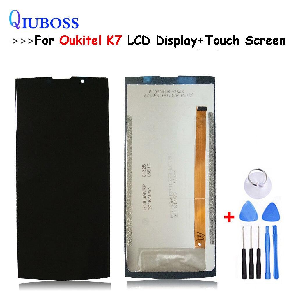 Para Oukitel K7 Display LCD + Montagem da Tela de Toque Acessórios Para OUKITEL K7 Reparação Peças de Reposição lcd
