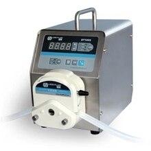 1 шт. светодиодный дисплей низкий расход Точная регулировка скорости перистальтический насос для водяных насосов жидкость BT100S/YZ15