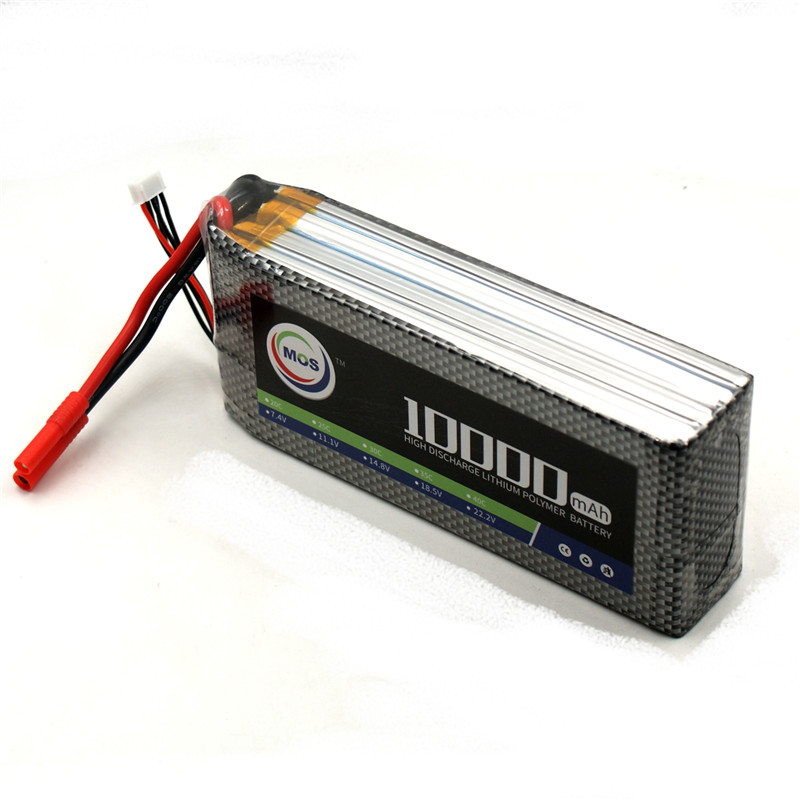 Lipo Battery 4S 14.8V 10000mAh 25C For RC Aircraft Drone Car Helicopter Quadcopter Airplane Remote Control Toys Lithium Battery mos 5s rc lipo battery 18 5v 25c 16000mah for rc aircraft car drones boat helicopter quadcopter airplane 5s li polymer batteria