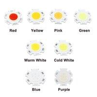Продвижение мм 2011 светодио дный 20 мм круглый светодиодный COB источник света модуль 3 Вт 5 Вт 7 Вт Теплый Природа белый RGB COB лампы флип чипы для ...