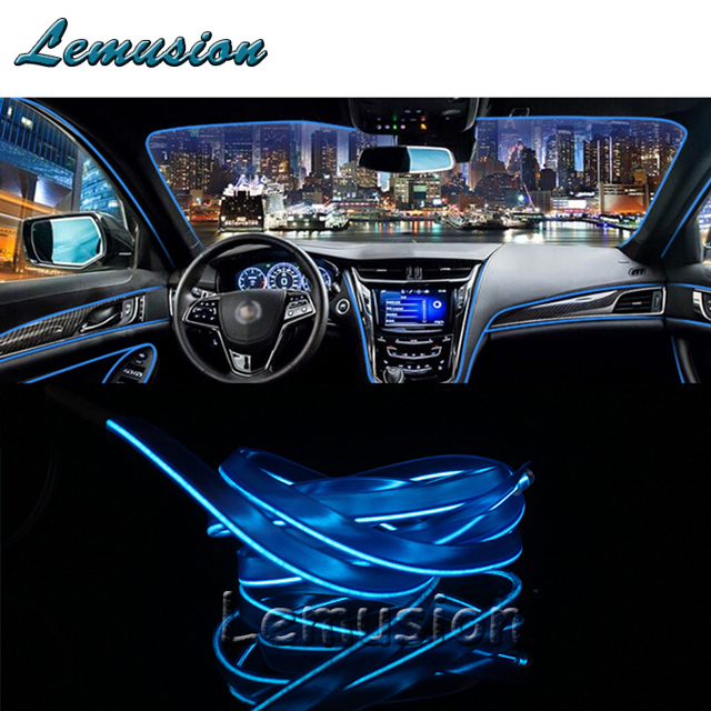 Coche de luz de neón de tira de luz LED para Chevrolet Cruze Aveo Captiva Lacetti TRAX navegar Epica para Acura MDX RDX TSX accesorios