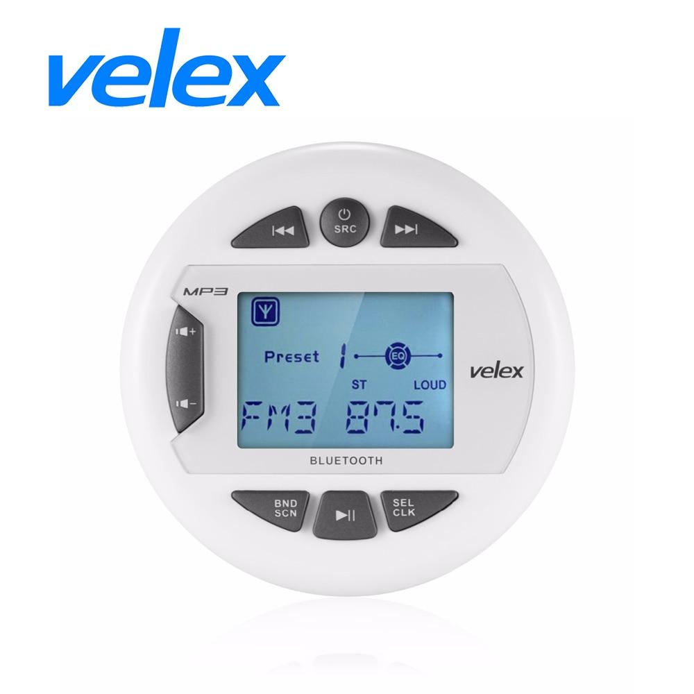 Waterproof Bluetooth Marine Digital Media Stereo Receiver with MP3 font b Player b font AM FM