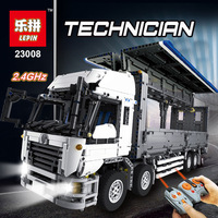 Lepin 23008 Technic Series 4380pcs MOC Truck Model Sets LegoINGlys 1389 Nano Education Building Blocks Bricks Kits Toys For Boys