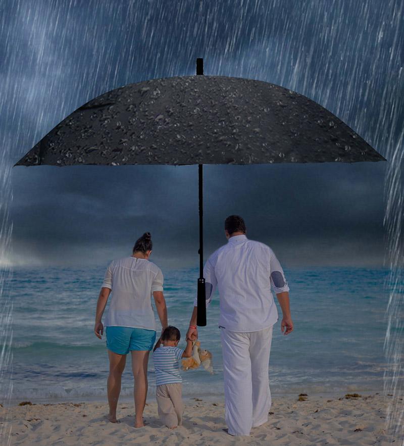 Male umbrella