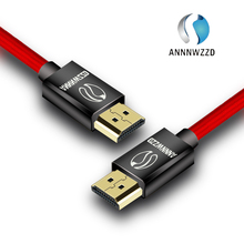 ANNNWZZD HDMI Cable 2.0 4K 1080P HDMI to HDMI Cable 5m 1m 10m HDMI Cable Adapter 3D for TV LCD laptop PS3 projector computer