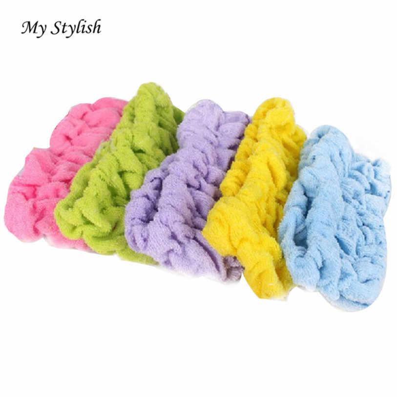 מכירה לוהטת! חדש נשים בנות מגבת הפנים לשטוף מקלחת ספא איפור פיג 'מה מסיבת שיער בגימור אופנתי @ 20