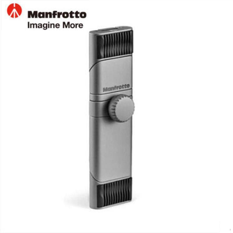 все цены на Manfrotto Hot TwistGrip Universal Smartphone Clamp Aluminum Tripod Monopods Plate For Iphone Samsung Mobile Phone 5.8 To 8.2CM онлайн