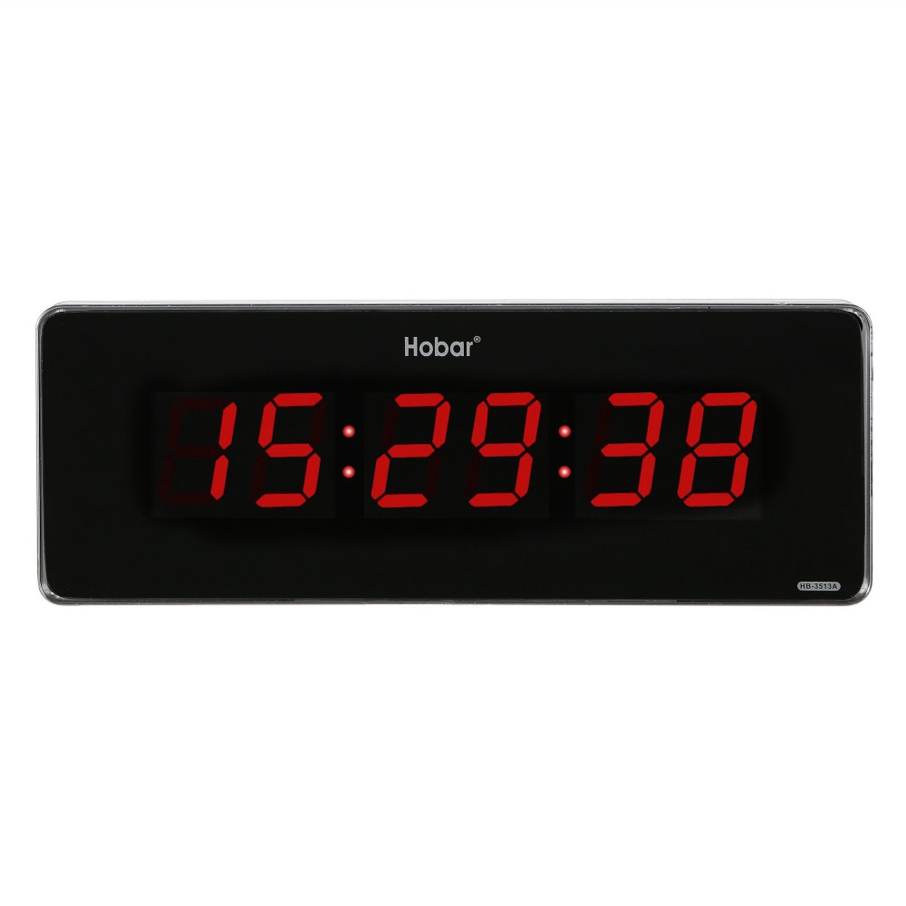 Outdoor Big Size Electronic Led Wall Clock PLUG-IN Electric Clock With Second Display Home Decor Silent Clock Time Memory Clock
