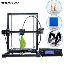Хит продаж tronxy DIY 3D принтер поддерживает автоматическое выравнивание металлический каркас 3D принтер машина RepRap Prusa i3 3D Принтер Бесплатная нитей