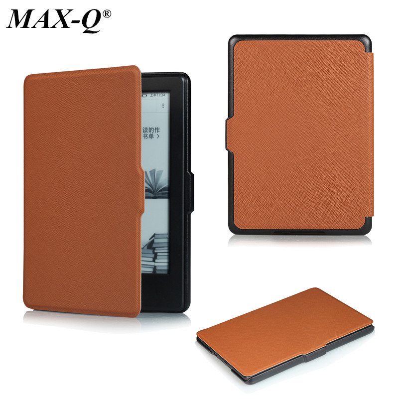 High Quality PU Leather Smart Wake Up Cover Protective Shell Case for Amazon Kindle2016 8th Gen Ebook New Kindle 558 for Amazon pu leather ebook case for kindle paperwhite paper white 1 2 3 2015 ultra slim hard shell flip cover crazy horse lines wake sleep