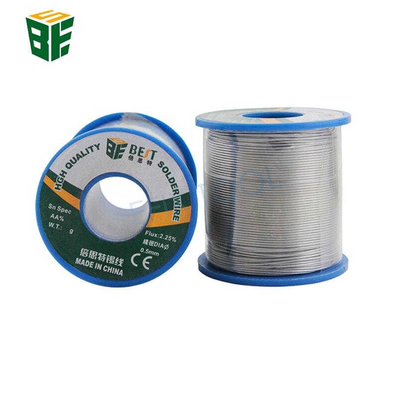 BST 0.5/0.6/0.8/1.0mm 500g 60/40 Rosin Core Solder Tin Lead 2.25% Flux Soldering Welding Iron Wire Reel high quaility carton rosin soldering iron soft solder welding fluxes environment friendly acid solder rosin