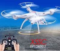 Free shipping 100% authentic new Syma X5SC RC Drone 2.4 G 6 Axis GYRO RC Quadcopter RTF RC com HD 2MP camera atualizado
