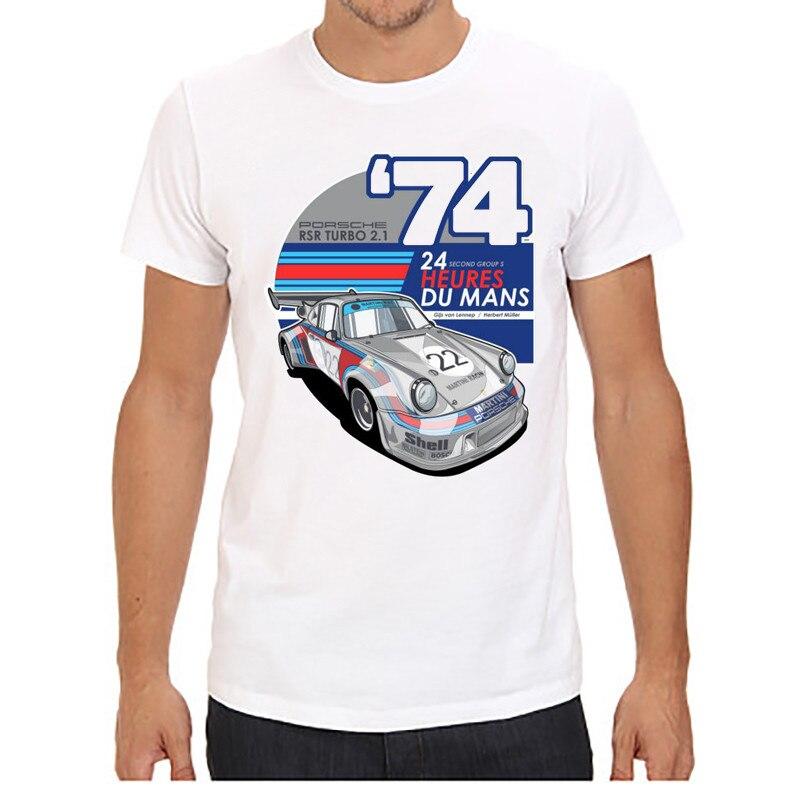 Мужские футболки с коротким рукавом и круглым вырезом, принт с красной машиной, плюс размер, топы, футболки, брендовые, хорошее качество, удобные футболки, топы - Цвет: 3