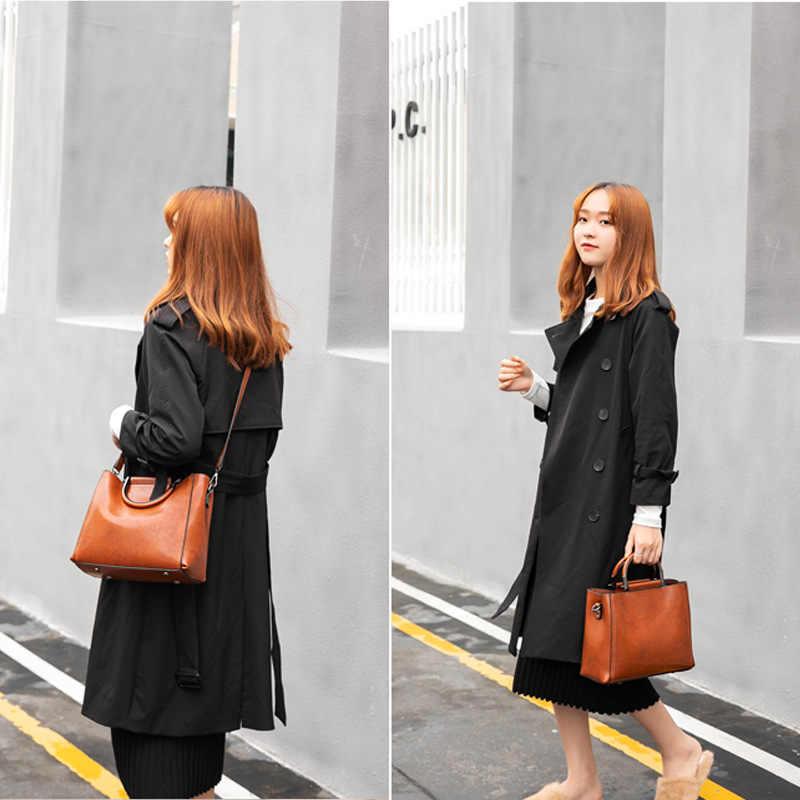 2019 yeni varış kadın çantası retro yağ balmumu deri çanta bayan çanta moda küçük çanta omuz çantaları drop shipping C811