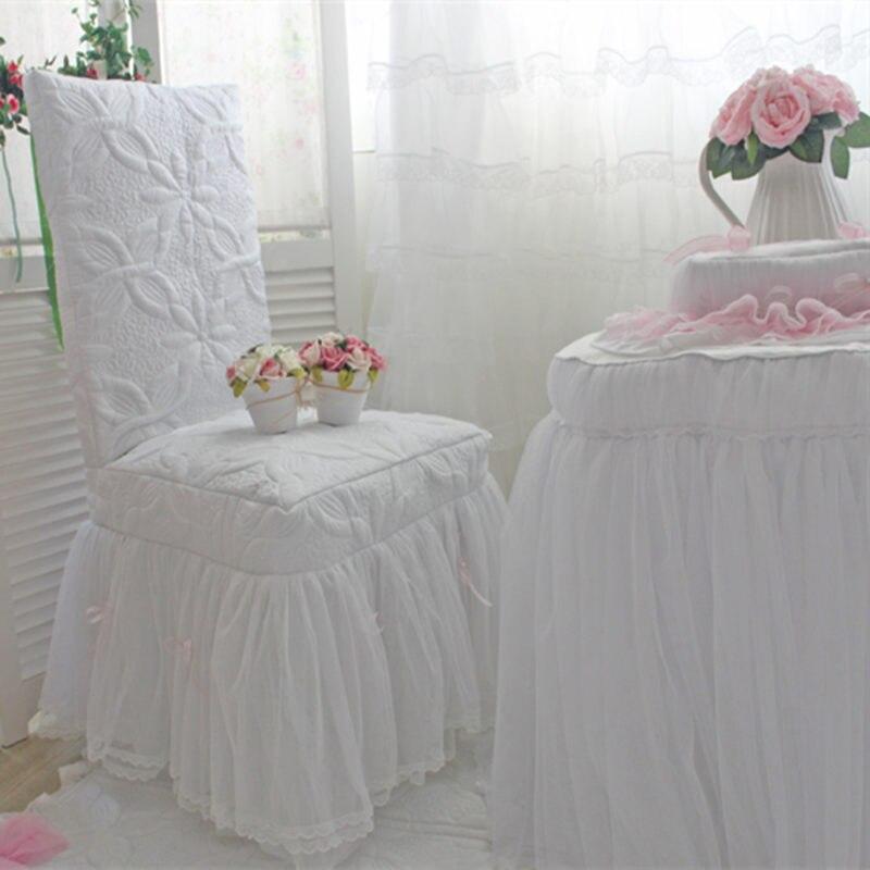 இPersonalizzato copertura della sedia Romantica tovaglia ...