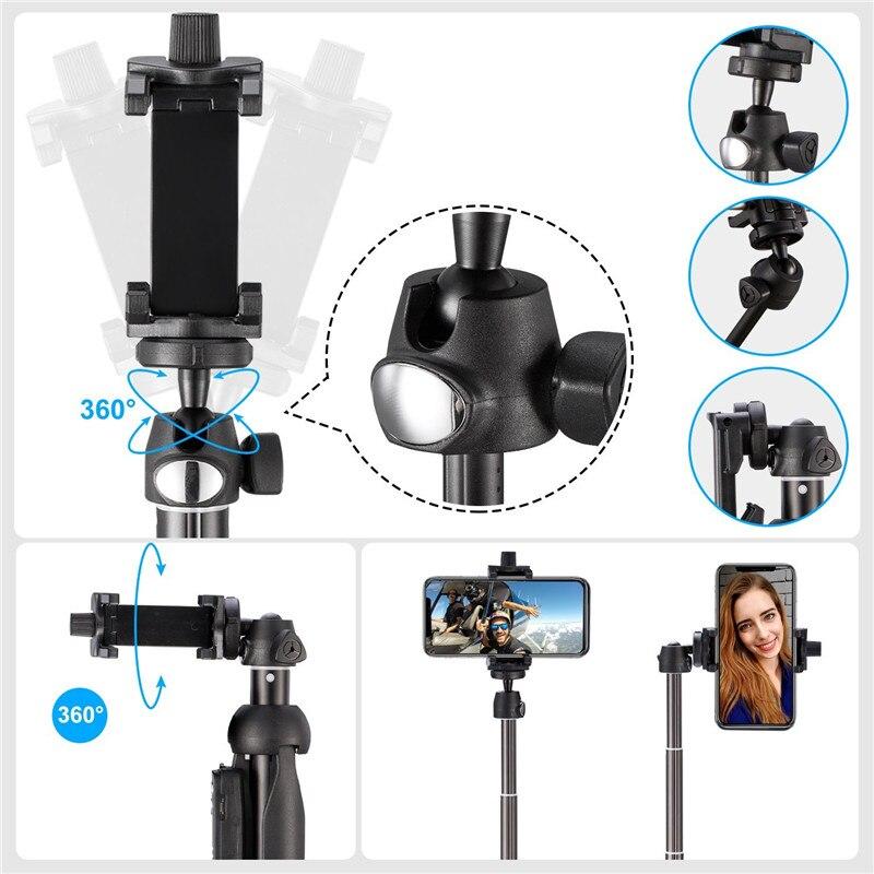 Einbeinstative Foto Bluetooth-Kamera Remote Shutter Selfie + Stativ - Handy-Zubehör und Ersatzteile - Foto 6
