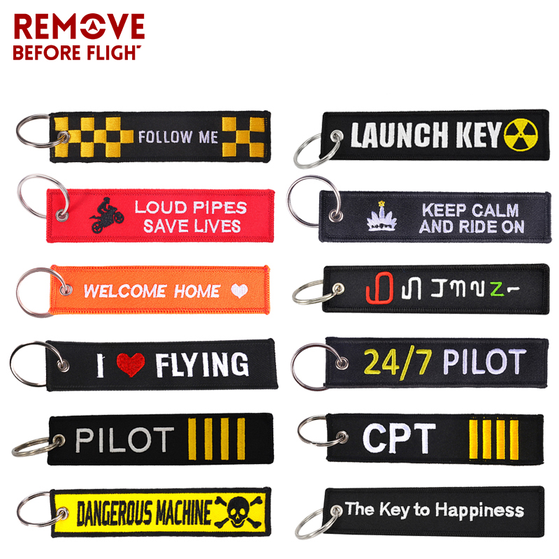 The Key to Happiness Keychain OEM Bijoux Black Embroidery Keyring Key Tag Holder Bijoux for Motorcycles Cars Key Chain Gift New|key for motorcycle|car keyrings keychainkey holder keychain - AliExpress