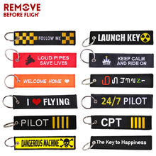 New The Key to Happiness Chain Bijoux Keychain for Motorcycles Cars Gifts Tag Embroidery Fobs OEM Ring