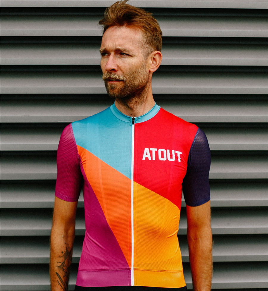 Good quality Pro Race Fit Cycling Jersey Short Sleeve Bicycle racing Clothes Maillot Ciclismo hombre fitted Road Bike t-shirt