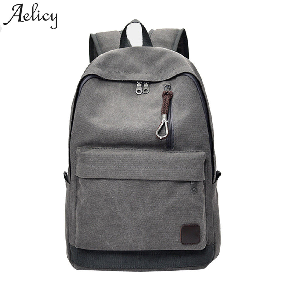 And Backpack Vintage Canvas Backpack Schoolbag Male Travel Bags Large Capacity Laptop Backpacks School Bag