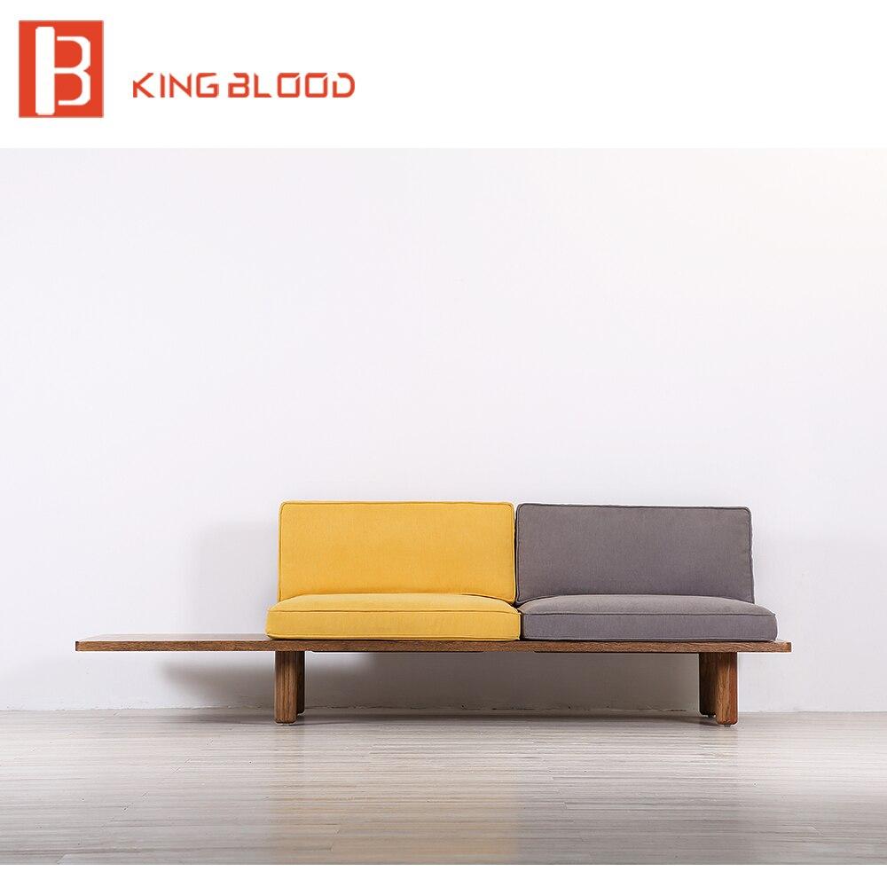 Lobby Wooden Sofa Set Design