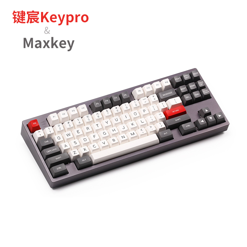 MAXKEY Foundation doubleshot ABS SA Profile Keycap Set for mechanical keyboard DIY