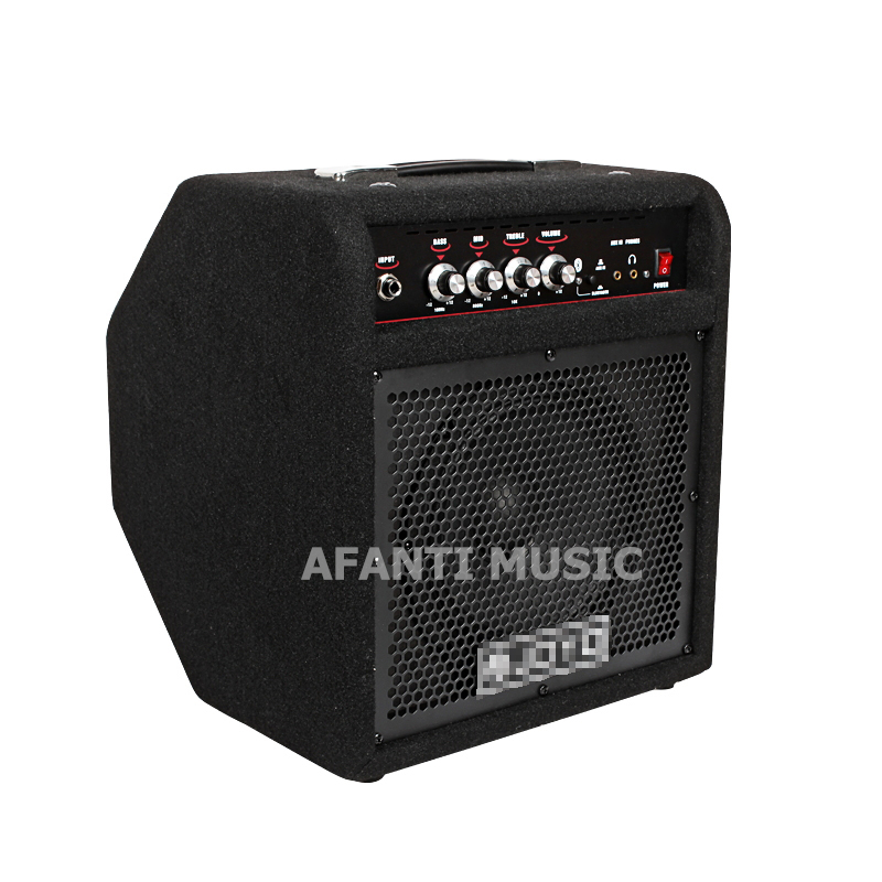 Afanti Music Electric Bass Amplifier (AMP-114) afanti music gib es335 style 4 strings bass guitar es335 b27