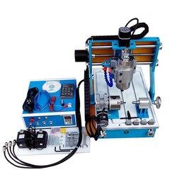 LY 3040Y 4 Axis 1500W CNC maszyna grawerująca do drewna z metalu precyzyjna szyna okrągła