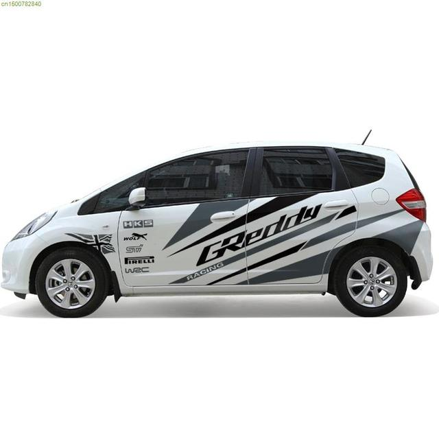 Size Clical Car Refit Stickers And Decals Fashion Decor Styling Vinyl Sticker For Honda Fit Ford Focus