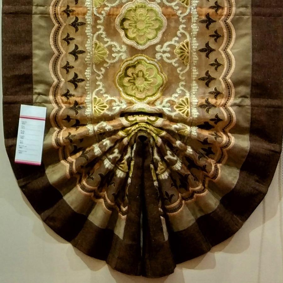 Empresa de Luxo Cortinas Romanas com o Jeito para cima e para baixo o sistema pode pendurar diretamente quando recebeu DIY LOGO Luxo Máscaras Romanas - 5