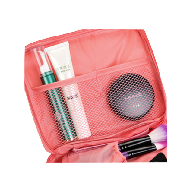 High Quality Portable Women Make Up Cosmetic Bag  2