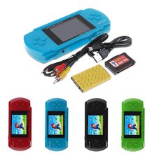 "PVP 3000 Game Console Player Built-in 89 Games Portable Video 2.8"" LCD Handheld Player For Family Mini Video Game Console"