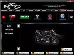 2020 دراجة نارية التشخيص أداة مسح ضوئي YAMAHA لياماها ، SYM ، KYMCO ، HTF ، PGO و لهوندا 7in1 دراجة نارية الماسح الضوئي