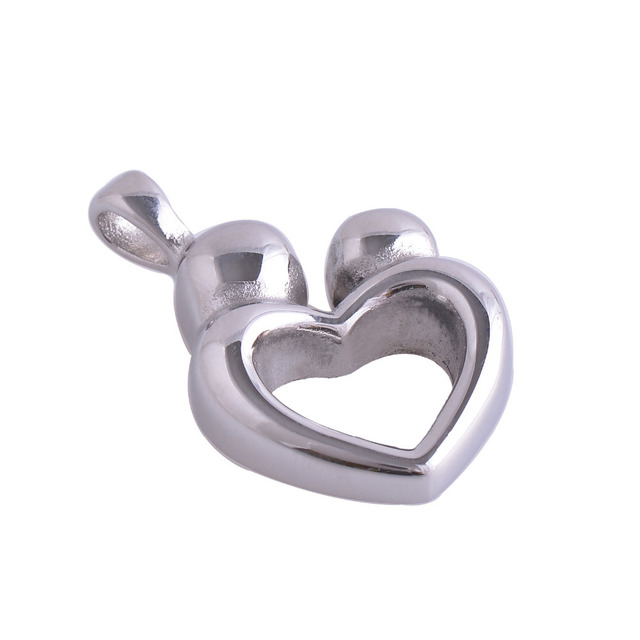 Heart Shaped Ashes Holder Pendant