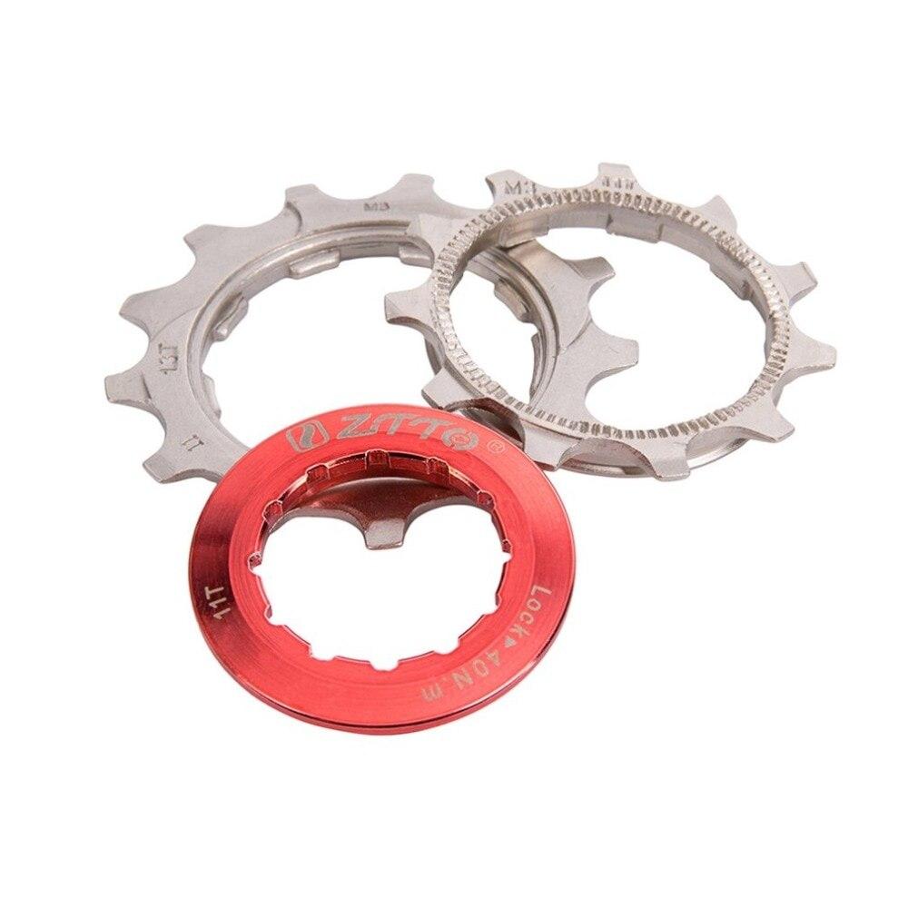 ZTTO 11 vitesses Cassette 11-50 T Compatible vélo de route système Sram haute résistance en acier pignons pliant noir argent engrenage - 4