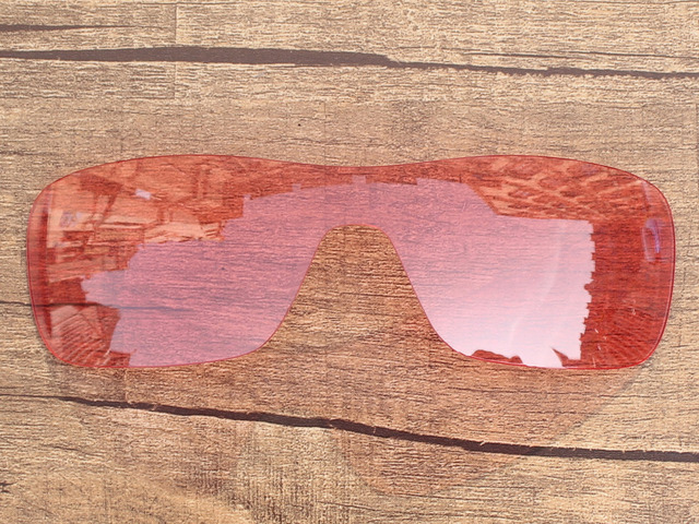 Crystal Pink  Replacement Lenses For Turbine Rotor Sunglasses Frame 100% UVA & UVB Protection